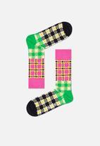 Happy Socks - 3 Pack abstract print socks gift set - pink