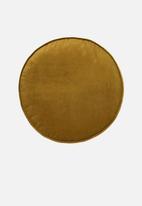 Linen House - Toro round cushion - bronze