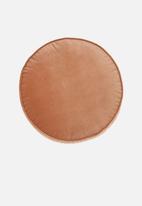 Linen House - Toro round cushion - peach