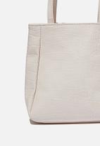 Rubi - Ella wristlet bag - ecru texture
