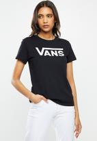 Vans - Flying v crew neck tee - black