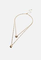 Rubi - Luxe layers multi necklace - gold