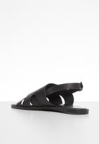 edit - Josie ankle strap sandal - black