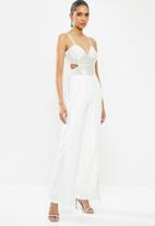 Sissy Boy - Heccers jumpsuit - off white