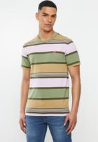 Levi's® - Short sleeve original bouquet stripe hm tee - multi