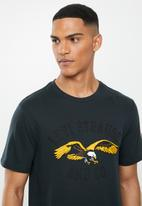 Levi's® - Graphic crewneck americana tee - black