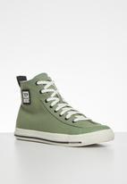 Diesel  - S-astico mid cut sneakers - green