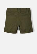 name it - Sofus twiisak long short camp - kombu green