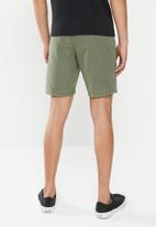 Quiksilver - Union heather amphibian 20 shorts - green