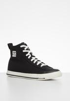 Diesel  - S-astico mid cut sneakers - y02370-pr012-t8013 - black
