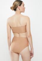 Vero Moda - Gwen high waist swim pants - neutral