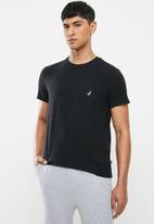 Nautica - Pocket tee - black