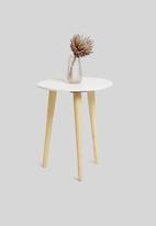 Sixth Floor - Oslo side table - white