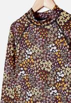 Cotton On - Hamilton long sleeve rashie - phantom floral fields