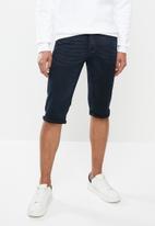 Jonathan D - Denim bermuda shorts - blue