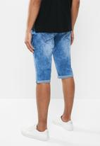 Jonathan D - Denim bermuda shorts - blue