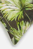 Hertex Fabrics - Moana outdoor cushion cover - gargoyle