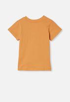 Cotton On - Jamie short sleeve tee - apricot sun