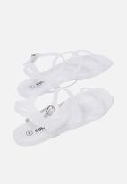 Cotton On - Triple strap jelly sandal - frosty clear