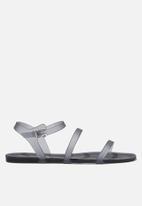 Cotton On - Triple strap jelly sandal - grey