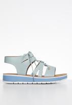 Plum - Ladonna sandal - blue