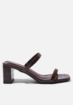 Cotton On - Merita mule - choc croc