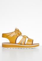 Plum - Ladonna sandal - yellow