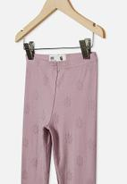 Cotton On - Huggie tights - chalky mauve