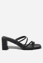 Cotton On - Martha mule - black