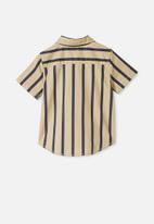 Cotton On - Resort short sleeve shirt - semolina