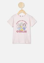 Cotton On - License short sleeve tee - crystal pink