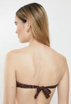 STYLE REPUBLIC - Bandeau top - brown