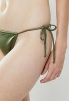 STYLE REPUBLIC - Tunnel panty - green