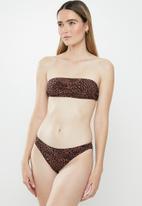 STYLE REPUBLIC - Basic bikini panty - brown