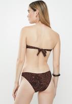 STYLE REPUBLIC - High leg panty - brown