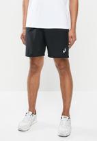 Asics - Silver 7in shorts - black
