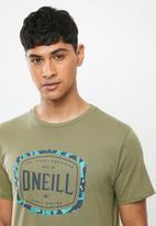 O'Neill - Tangier short sleeve tee -  green