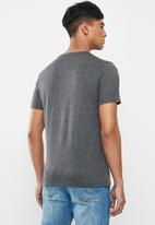 Original Penguin - Embroidered T-shirt  - dark grey