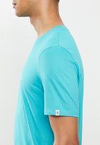Original Penguin - Embroidered T-shirt - blue