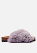Cotton On - Cosy crossover slipper - grey
