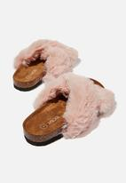 Cotton On - Cosy crossover slipper - blush