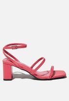 Cotton On - Layla block heel - pink