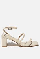 Cotton On - Layla block heel - neutral