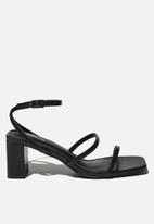 Cotton On - Layla block heel - black
