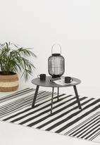H&S - Round coffee table - dark grey