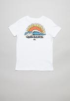 Quiksilver - Kool enough short sleeve tee youth - white
