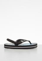Billabong  - Groms anchored sergio flip flops - light blue