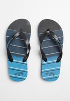 Billabong  - Boys vaulter pro flip flops - navy