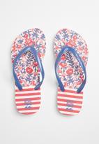 Billabong  - Dama flip flops - red