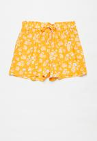 Superbalist Kids - Elasticated shorts - yellow